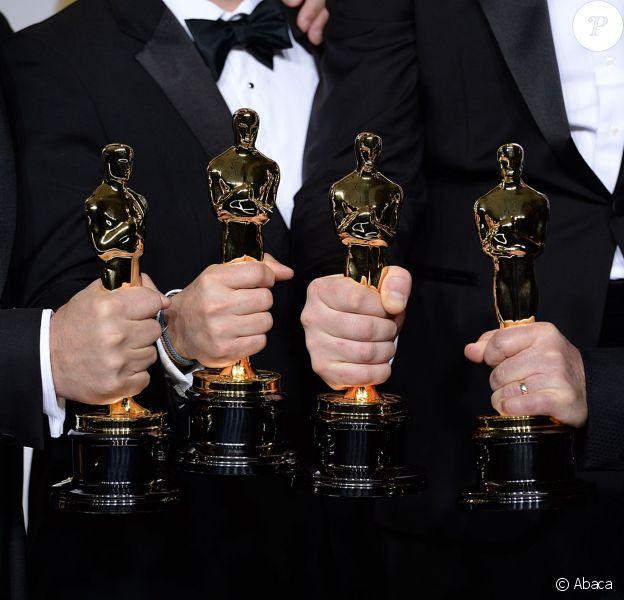 Des gagnants aux Oscars à Hollywood, Los Angeles, le 2 mars 2014.