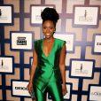 Teyonah Parris lors des 8es Essence Black Women organisées à Hollywood à l'hôtel Beverly Wilshire, le 19 février 2015.