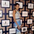 Chanel Iman lors des 8es Essence Black Women organisées à Hollywood à l'hôtel Beverly Wilshire, le 19 février 2015.
