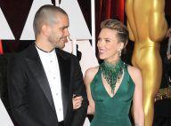 Scarlett Johansson, avec Romain Dauriac crâne rasé, victime d'un étrange baiser