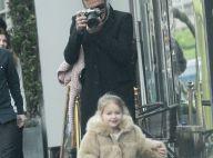 Harper et David Beckham : Balade en duo, entre bisous, câlins et photos !