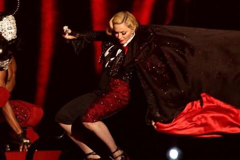 Brit Awards 2015 - Madonna, la chute : ''Rien ne peut m'arrêter... Je vais bien''