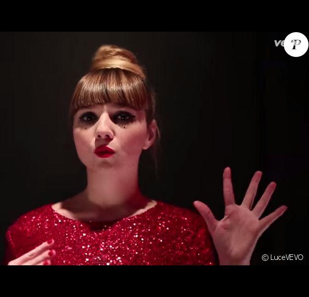 La chanteuse Luce (Nouvelle Star) dévoile son nouveau single intitulé Polka. Février 2015.