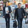 Coco Rocha enceinte et son mari James Conran se promènent à New York, le 11 novembre 2014.