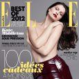 Laetitia Casta topless en couverture du magazine Elle en décembre 2012.