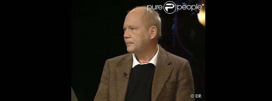 Daniel von Bargen dans une émission télé en 2003. (capture d'écran)