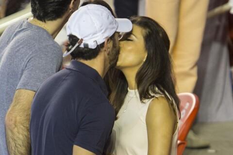 Eva Longoria, amoureuse : Baisers et câlins avec son beau Jose
