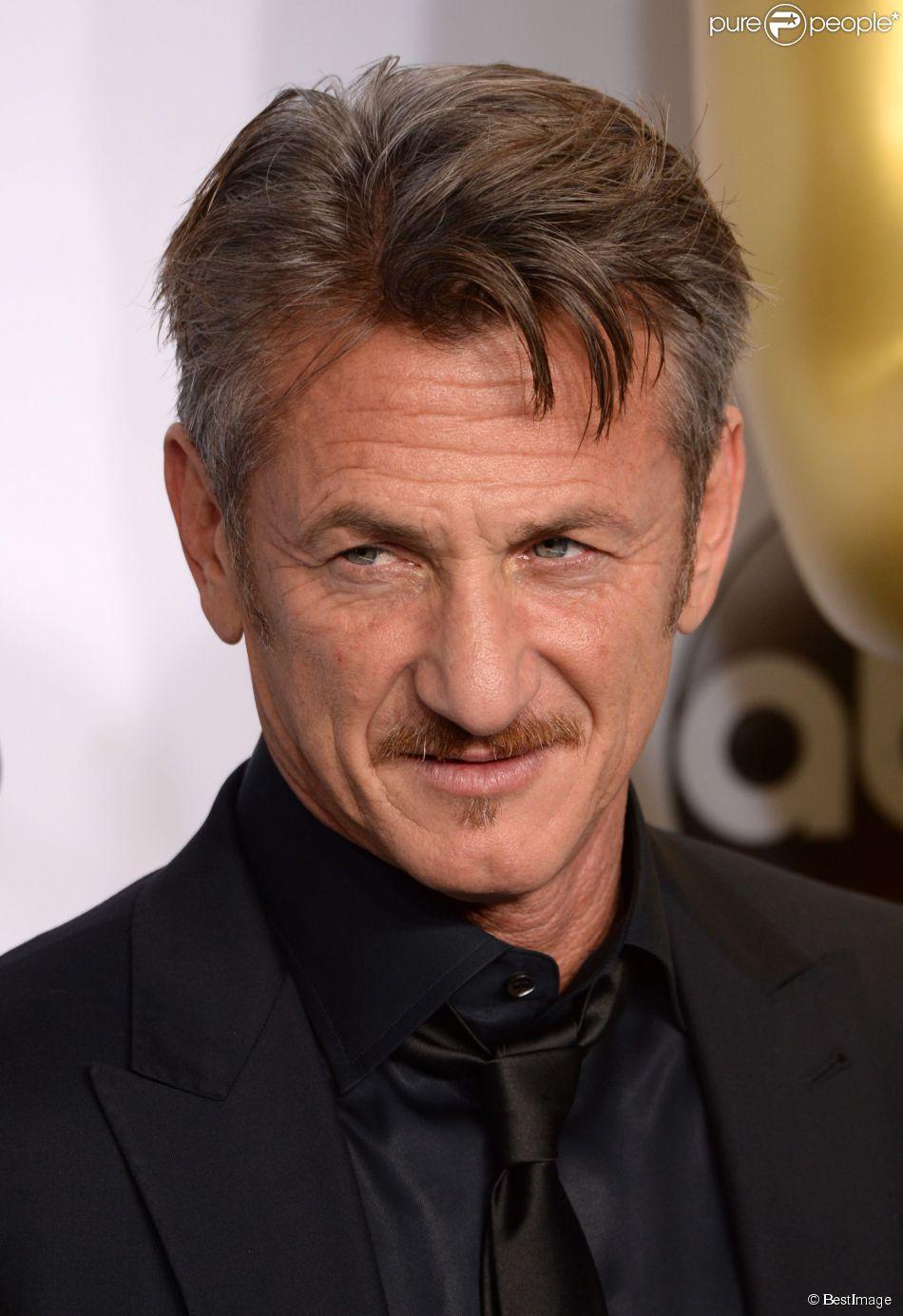 Sean Penn - Press Room lors de la 87ème cérémonie des Oscars à Hollywood, le 22 février 2015.