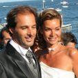 Mariage d'Ingrid Chauvin et Thierry Peythieu en 2011.
