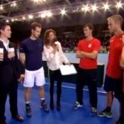 Andy Murray, la grosse gaffe : Il révèle l'infidélité d'un coéquipier en direct