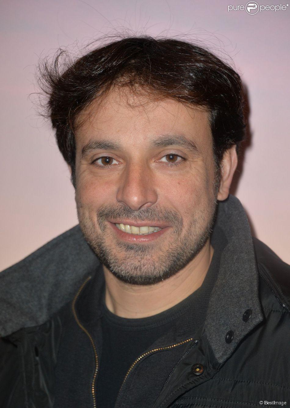 """Bruno Salomone - Première du film """"GUS, petit oiseau, grand voyage"""" à l'UGC Normandie à Paris le 1er Février 2015."""