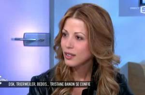 Tristane Banon, enceinte : Remise à sa place par Anne-Sophie Lapix dans C à vous