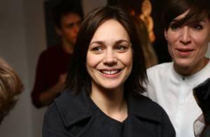 Nathalie Péchalat : ''Femme à fromage'' au côté de la future maman Maya Lauqué