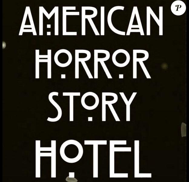 Affiche de la 5e saison American Horror Story : Hotel