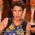 Alessandra Sublet dans Un soir à la Tour Eiffel, le 18 mars 2015 sur France 2.