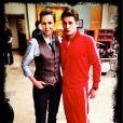 Matthew Morrison a posté sur Twitter cette photo quelques instants après la diffusion du dernier épisode de la série  Glee , le vendredi 20 mars 2015.