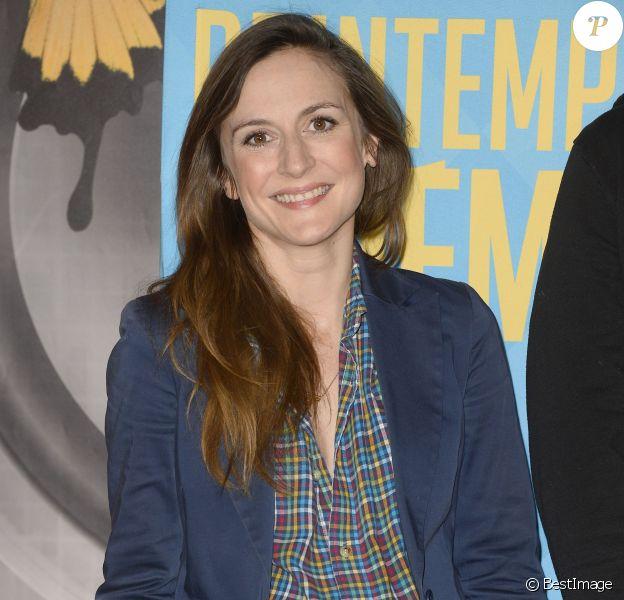 Camille Chamoux enceinte - Ouverture de la 16e édition du Printemps du cinéma au Cinéma Pathé Beaugrenelle à Paris, le 22 mars 2015