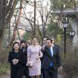 La princesse Victoria de Suède et son mari le prince Daniel effectuaient une visite officielle en Corée du Sud du 23 au 25 mars 2015