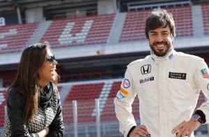 Fernando Alonso, de retour après l'accident : Un merci 'spécial' à sa belle Lara