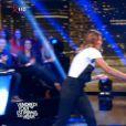 Ariane Brodier et Laury Thilleman s'écharpent après un strip-tease raté, le 27 mars 2015 dans VTEP sur TF1.