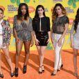 Le groupe Fifth Harmony assiste à la 28e édition des Kids Choice Awards, au Forum. Inglewood, Los Angeles, le 28 mars 2015.