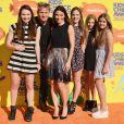 Gordon Ramsay en famille lors de la 28e édition des Kids Choice Awards, au Forum. Inglewood, Los Angeles, le 28 mars 2015.