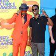 Nick Cannon et Chris Rock assistent à la 28e édition des Kids Choice Awards, au Forum. Inglewood, Los Angeles, le 28 mars 2015.