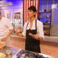 Kevin et Dominique Crenn dans  Top Chef 2015  (épisode 10), le lundi 30 mars 2015 sur M6.