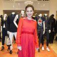 Virginie Ledoyen à l'Inauguration de la boutique Tommy Hilfiger Bd des Capucines à Paris le 31 mars 2015.