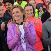 Sylvie Tellier : Jolie sportive engagée, elle part à l'assaut de Montmartre