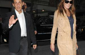 PHOTOS EXCLUSIVES : Nicolas et Carla Sarkozy... New York - New York !!!