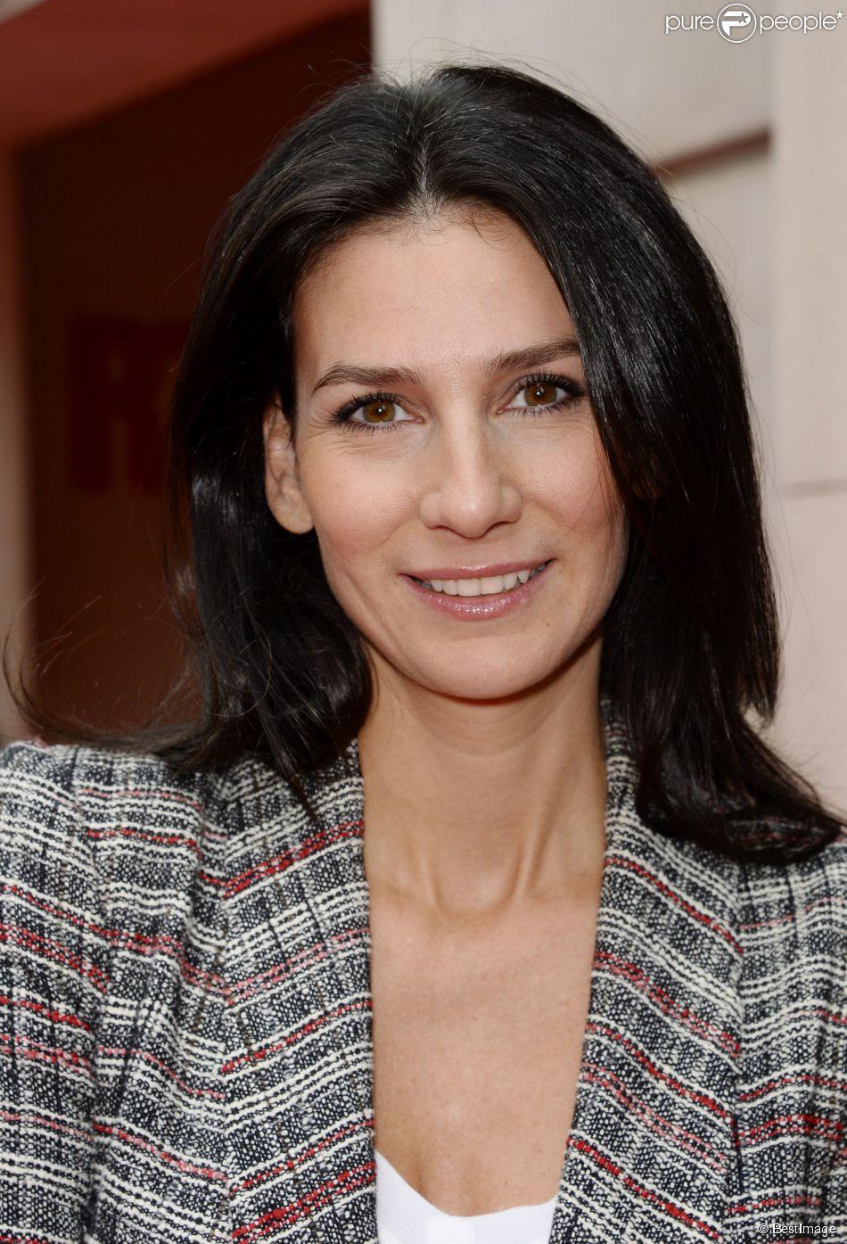 Marie Drucker, à Paris, le 4 septembre 2014.