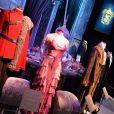 """Des costumes de La Coupe de Feu - Harry Potter : L'exposition"""" à la cité du cinéma à Saint-Denis, le 2 avril 2015. L'exposition a lieu du 4 avril au 6 septembre 2015."""