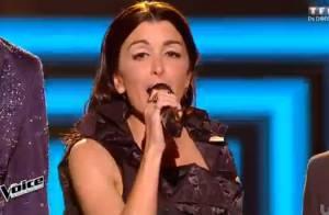 The Voice 4 - Jenifer : Un look sexy en petite robe noire pour le premier live !