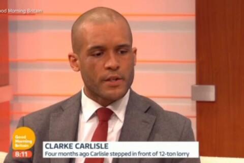 Clarke Carlisle, son suicide manqué : Dépressif, l'ex-footeux a quitté sa femme