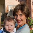 Laura Bush et sa petite-fille Mila, le 1er novembre 2013.