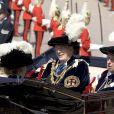Le duc de Gloucester et le duc de Kent lors des cérémonies de l'Ordre de la Jarretière en 2008