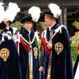 Le prince Edward, duc de Kent lors des cérémonies de l'Ordre de la Jarretière en juin 2013