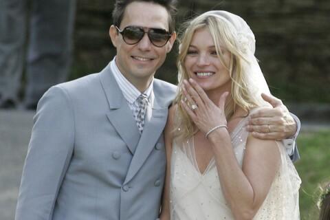 Kate Moss à la noce : La Brindille marie son petit frère !