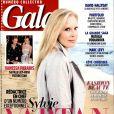 """Sylvie Vartan, rédactrice en chef d'un numéro exceptionnel de """"Gala"""", en kiosques le 8 avril 2015."""