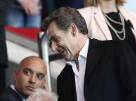 PSG-ASSE : Nicolas Sarkozy supporter heureux face à Cauet et Anne Hidalgo