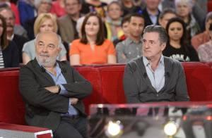 Daniel Auteuil et Gérard Jugnot, amis complices devant Zabou et son papa