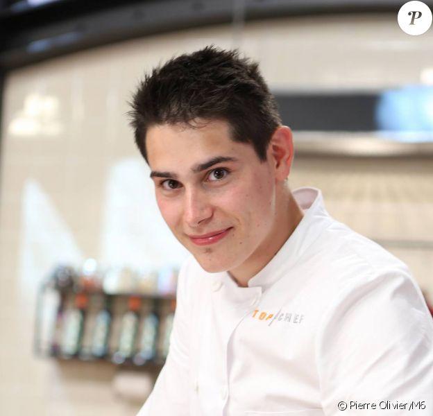 Xavier Koenig, candidat de Top Chef 2015.