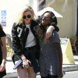 Exclusif - Ireland Baldwin et Angel Haze après un déjeuner chez Sweet Butter Kitchen à Sherman Oaks, le 3 juin 2014