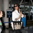 Kimora Lee Simmons arrive à American Airlines à Los Angeles, le 6 juin 2014