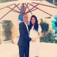Sur Instagram, Kimora Lee Simmons enceinte avec son mari Tim Leissner le 24 février 2015