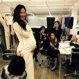 Sur Instagram, le 11 février 2015 Kimora Lee Simmons est enceinte