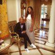 Sur Instagram, le 9 février 2015 Kimora Lee Simmons a ajouté une photo de sa fille MingLee et son père