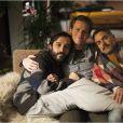 Frankie Alvarez, Jonathan Groff et Murray Bartlett dans Looking