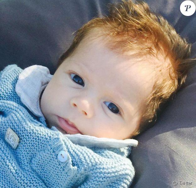 Sasha, le fils de Shakira et Gerard Piqué - avril 2015